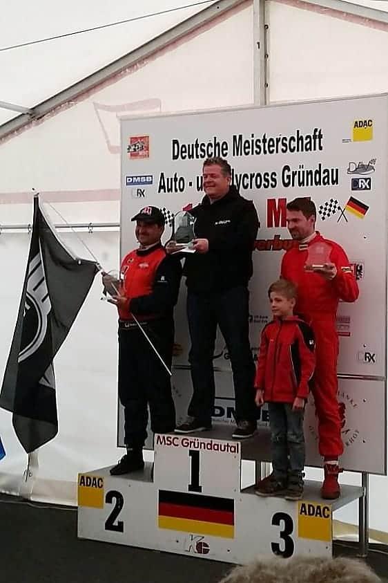 Antoine van Ballegooijen - Rallycross Gründau DRX - 2016