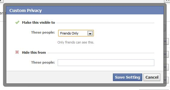 How To Segment Your 'Friends' & Control Your Privacy Settings In Facebook 6