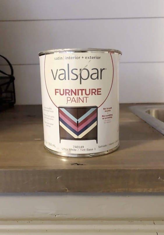 Valspar Furniture Paint