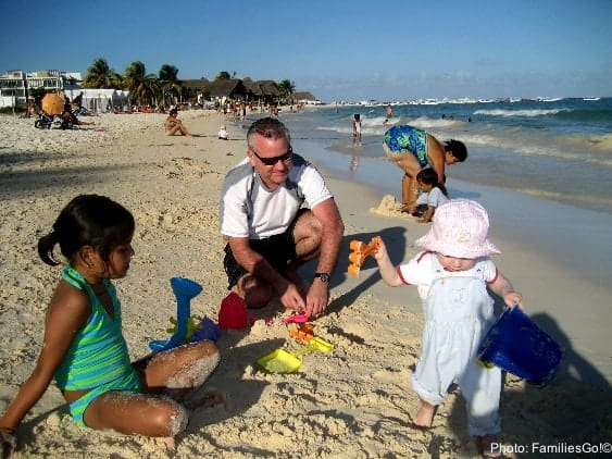 Best Vacations with a Baby, Vacations with a Baby, best places to travel with a baby, places to travel with a baby, playa del carmen with baby