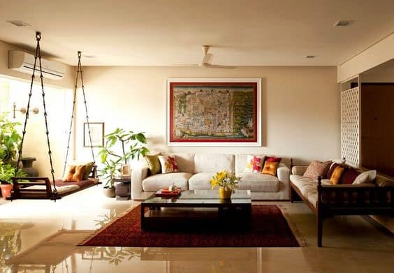 How To Achieve Fascinating Living Room Designs In Indian