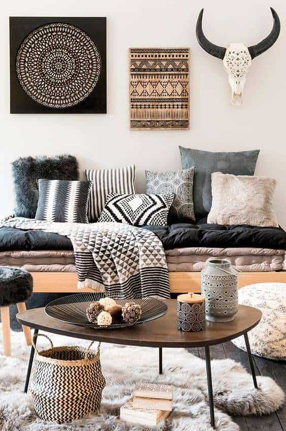 Modern Boho Home Decor : 5 Ways