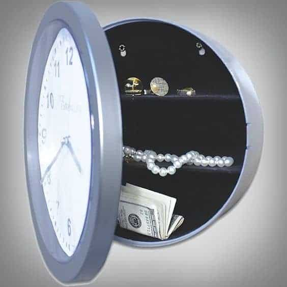 secret wall clock safe