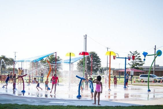 maize splash pad