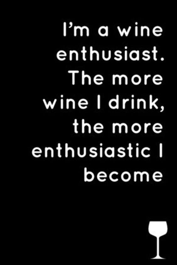 Im a wine enthusiast