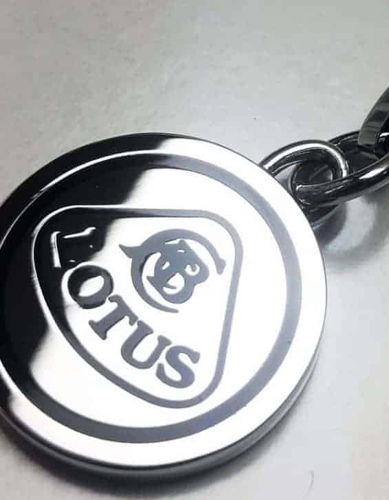 KEYRING 1948 Lotus Cars Originals Solid Stainless Steel Keychain Sportscar