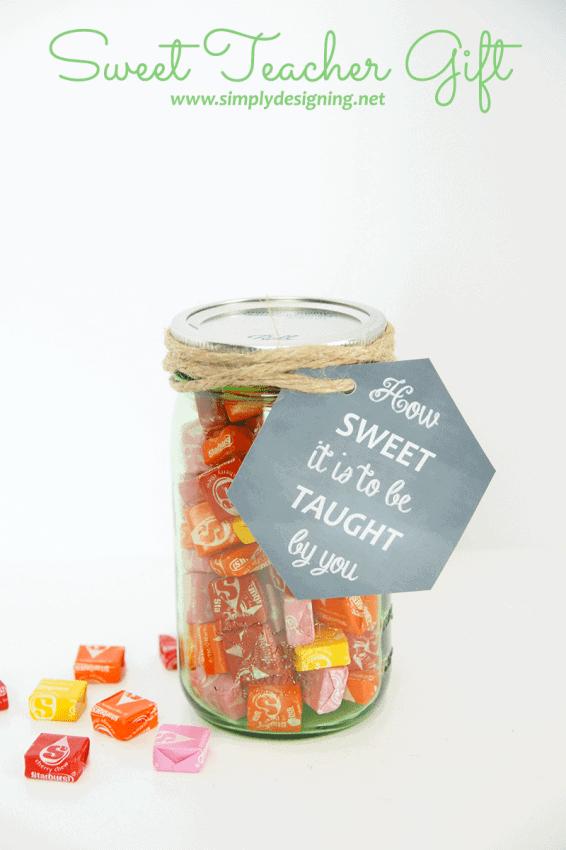 Sweet Teacher Gift