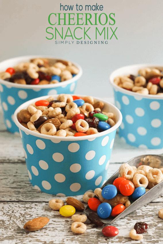Cheerios Snack Mix Recipe