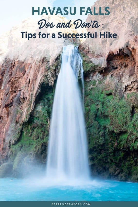 Headed to Havasu Falls? Here's a list of Do's & Don'ts with helpful tips and advice to ensure a successful Havasupai camping trip.