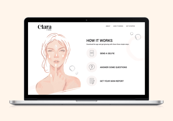 Clara On Desktop Screen - Creative Design - Citizen Best