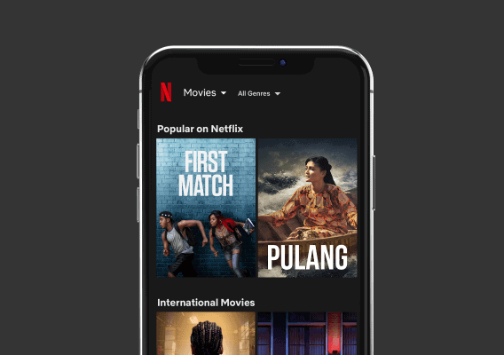 Netflix On Mobile Screen - Creative Agency - Citizen Best