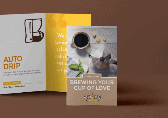 Brewing Your Cup of Love Flyer - Creative Design Agency - Citizen Best