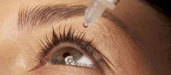 Acute treatment eyes