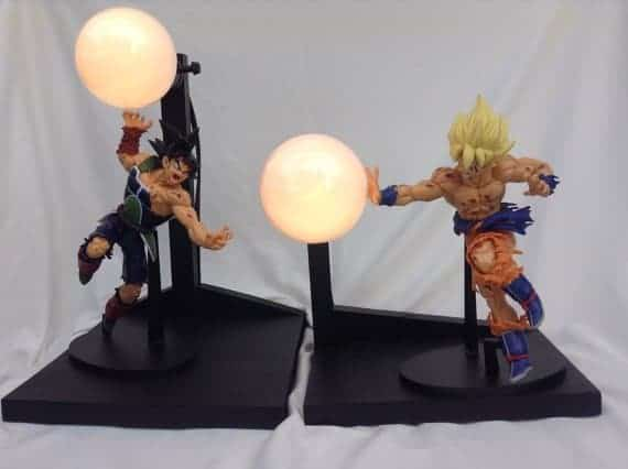 bardock vs goku dragon ball z lamp Dragon Ball Z merchandise