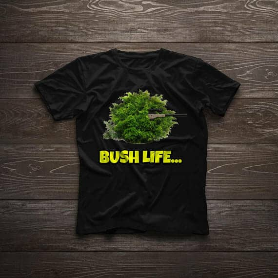 Fornite bush life tee