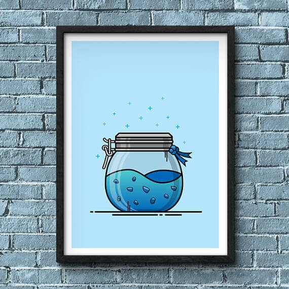 Fortnite shield potion artwork