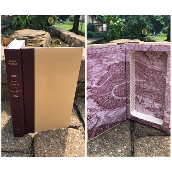 hollowed out book concealed storage