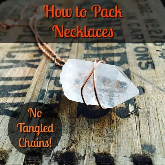 How to Pack Necklaces