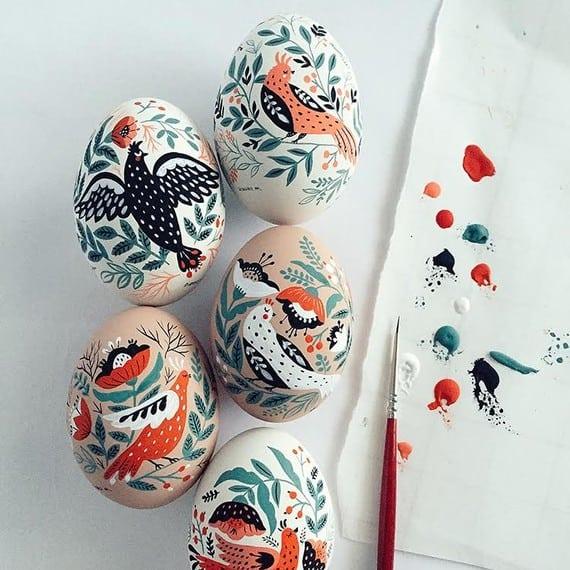 Mirdinara Folk Art Eggs