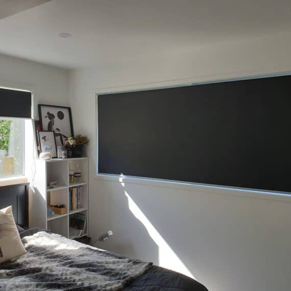Blackout roller blinds in Glenfield