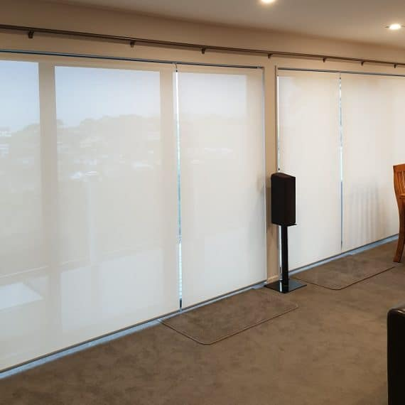Sunscreen roller blinds Whangaparaoa