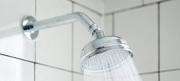 Standard wall-mounted shower head