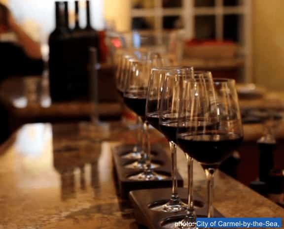 Wine tastings are fun on a parent getaway