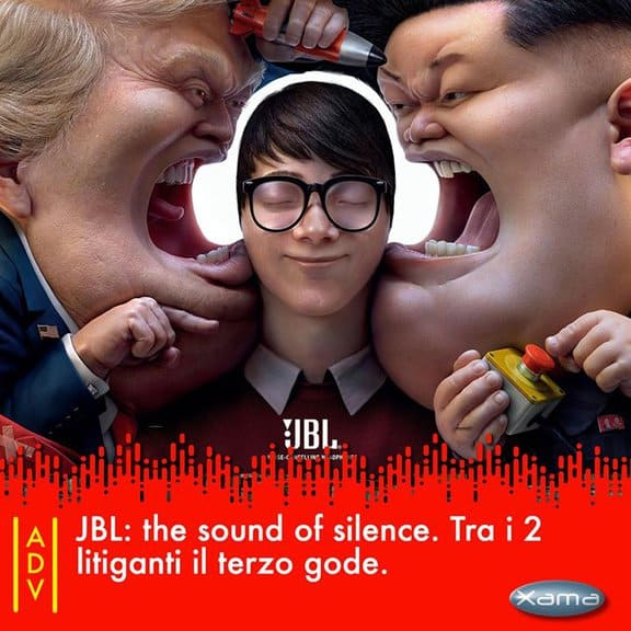JBL: The sound of Silence. Tra i due litiganti il terzo gode jbl