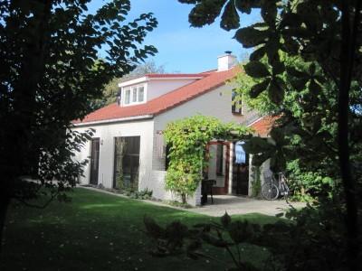 Vakantiehuis Texel in het groen