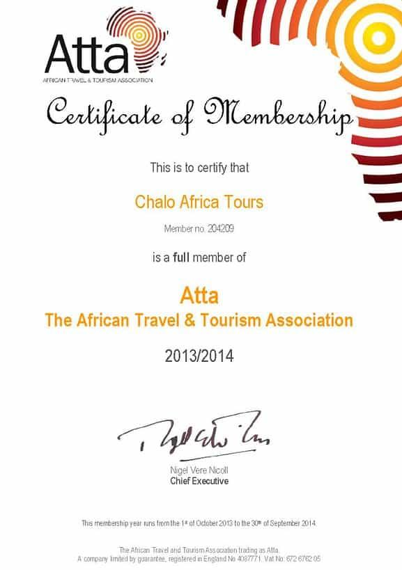 Chalo Africa - ATTA member
