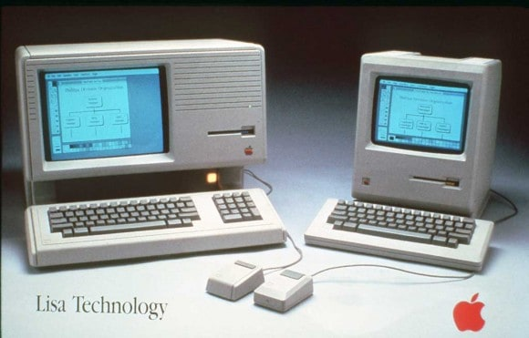 Apple Lisa and Apple Macintosh (1984)