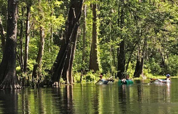 Best tubing in Florida: Tubing Ichetucknee Springs State Park. (Photo: Bonnie Gross)