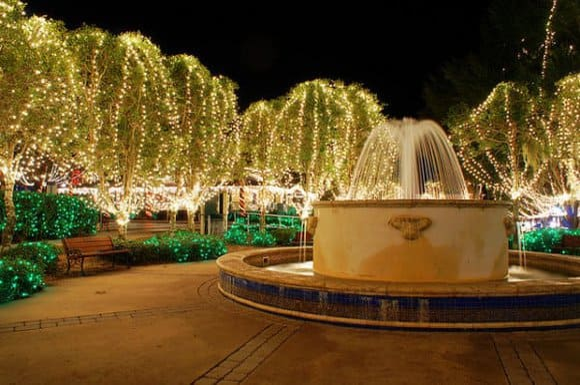 Best Christmas light in Florida: Mount Dora.