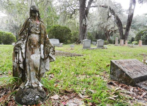 The Micanopy FL cemetery: beautiful and historic.