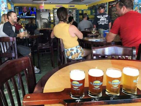 Floriday Keys breweries: Tasting room at Islamorada Brewing Company (Photo: Bonnie Gross)