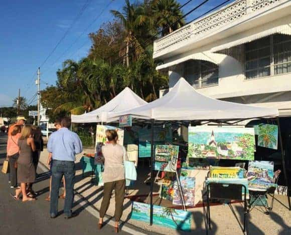 Art walk on Morada Way