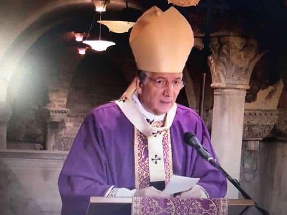 patriarca francesco moraglia messa