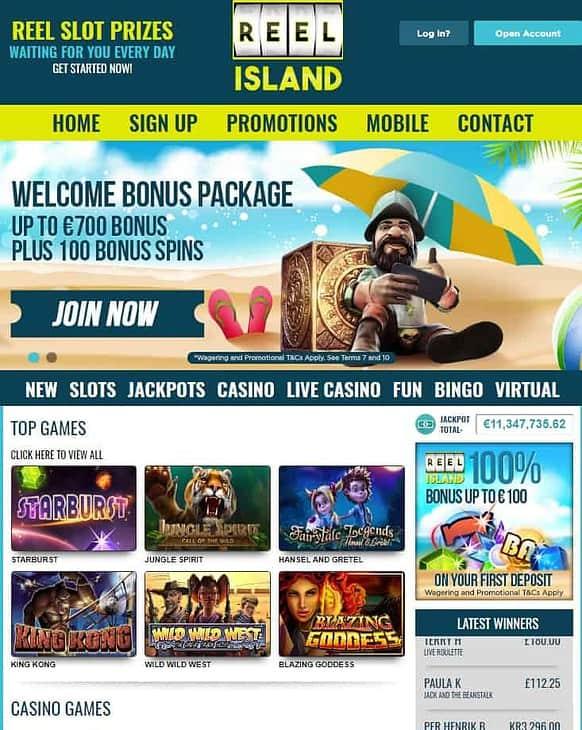 Reel Island Casino Review