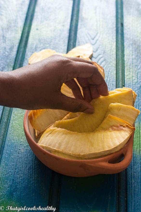 roast Breadfruit