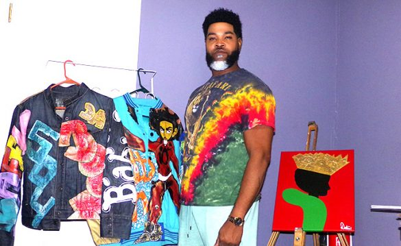 Painter Demetrius Williams