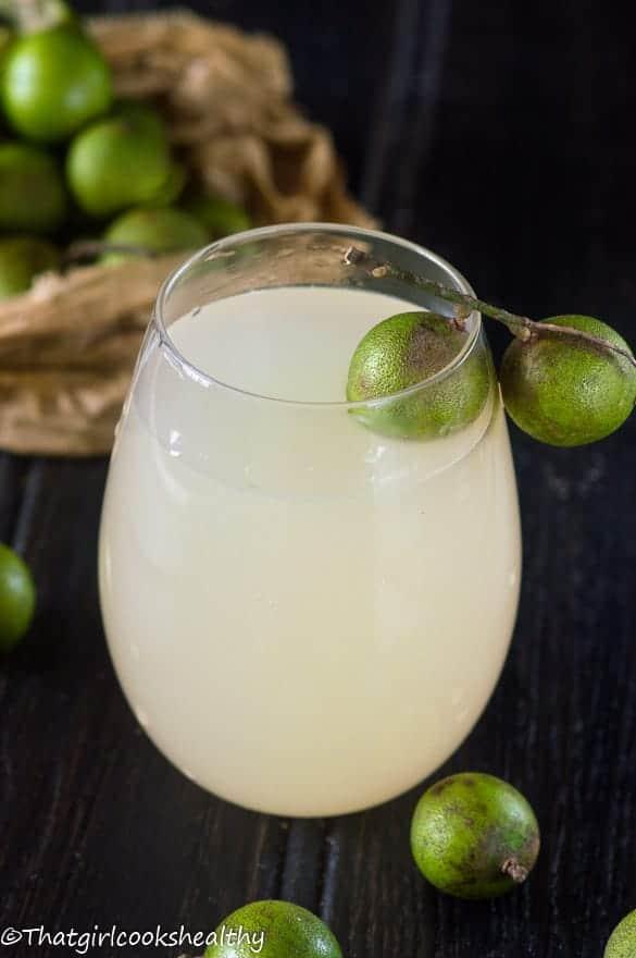 Guinep juice
