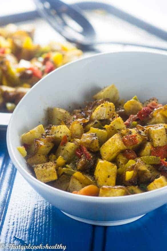 Oven-baked-spicy-plantain