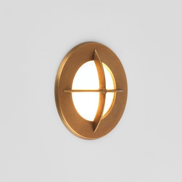 Astro 1379002 Arran Round LED Antique Brass