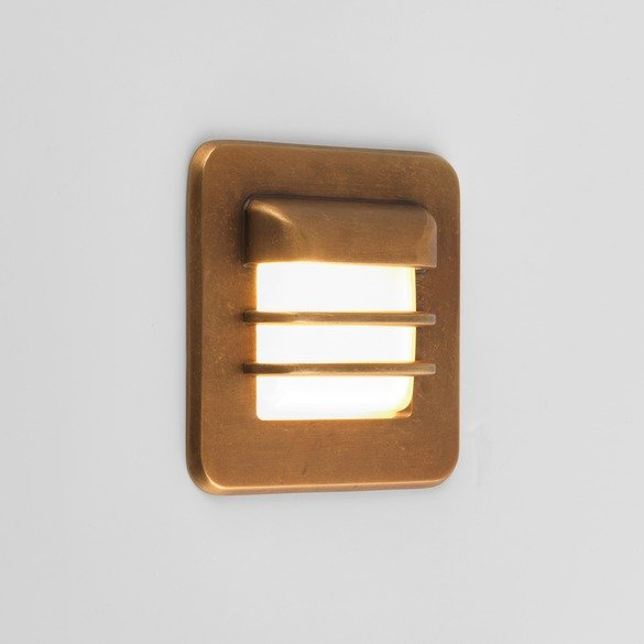 Astro 1379001 Arran Square LED Antique Brass