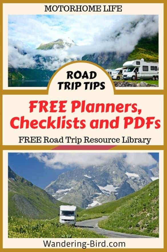 Motorhome Travel guides & checklists