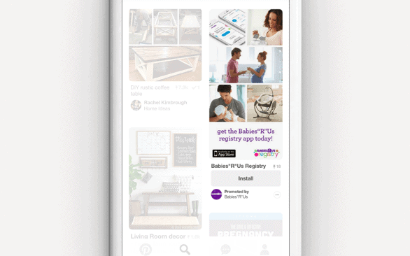 Pinterest Ad Formats: Promoted App Pins
