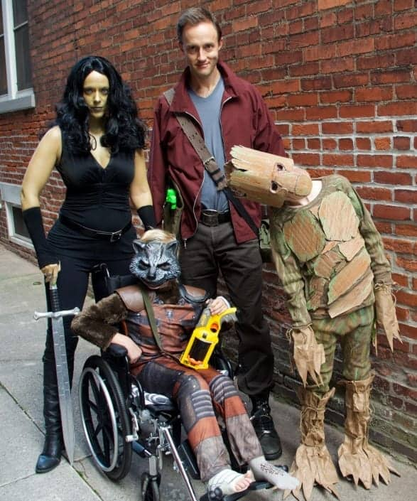 Guardians of Galaxy Family Costume Ideas