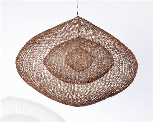 Ruth Asawa, Untitled,  copper, iron and brass wire