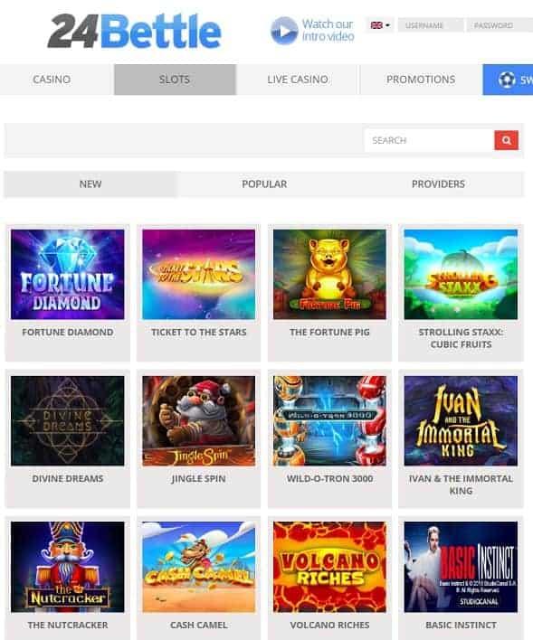 24Bettle Casino Online - register now!