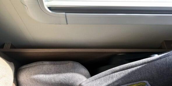 Spalte neben Sitz